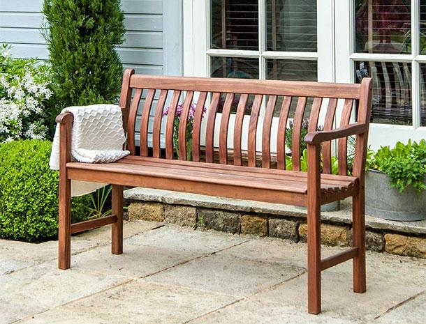 nice free wooden garden bench plans