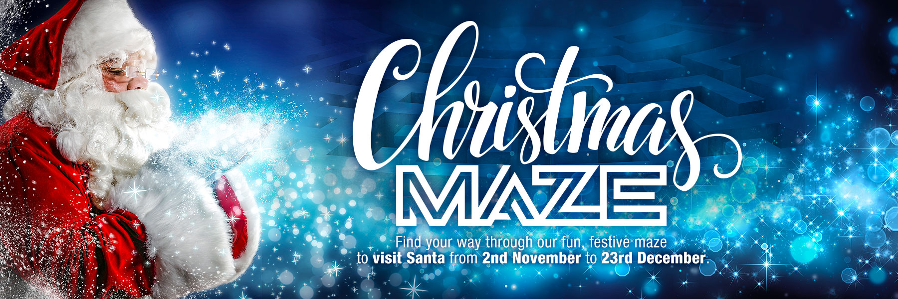 The Christmas Maze @ Hayes