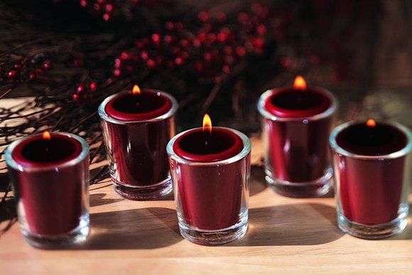 ROOT Wine votive candles