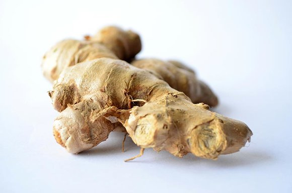 fresh ginger tuber
