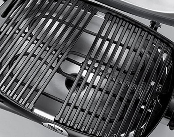 Weber Q Electric grill close-up