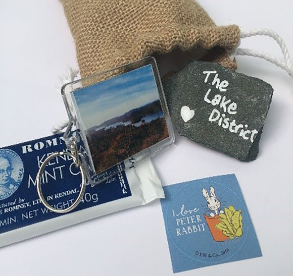 The Little Bag of  the Lake District contents