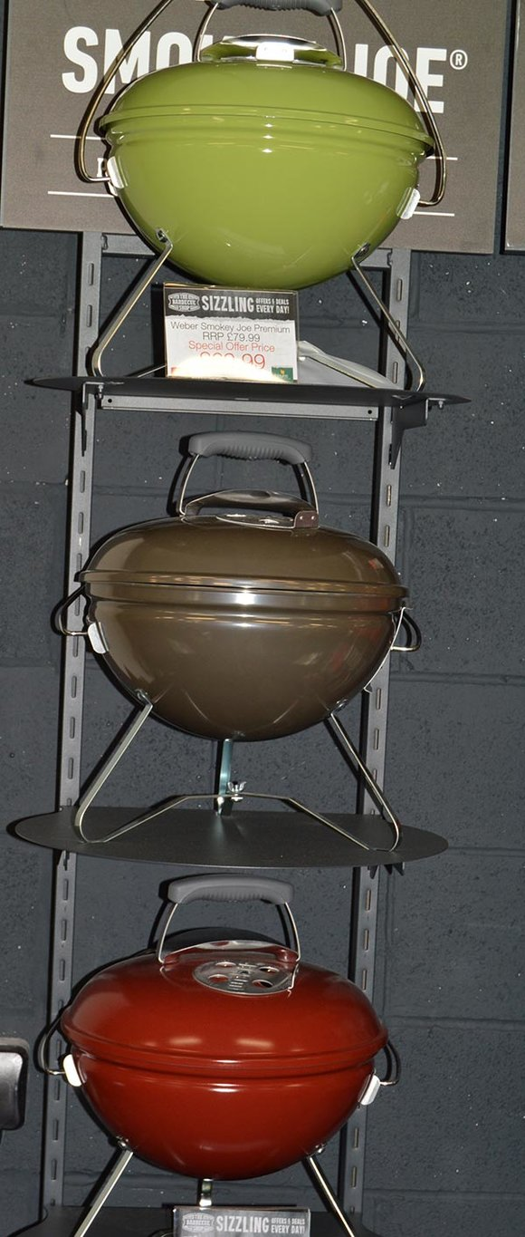 Weber Smokey Joe charcoal barbecue