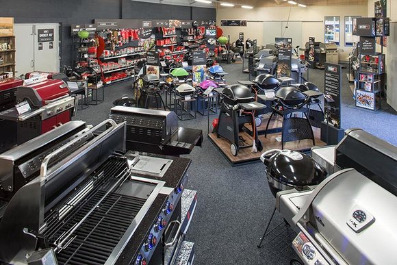 Weber store within Hayes Barbecue World