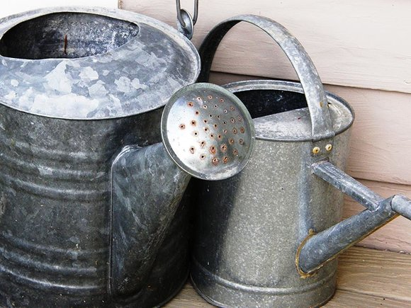 Matal watering cans