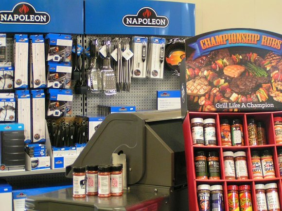 BBQ accessories and rubs in Hayes Barbecue World