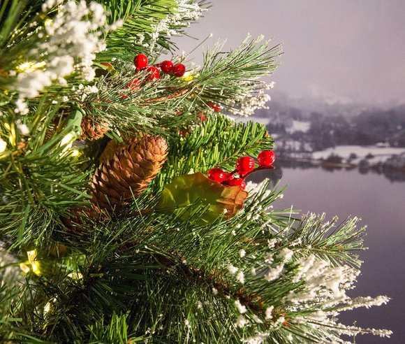 Wintry Pine Artificial Christmas Tree