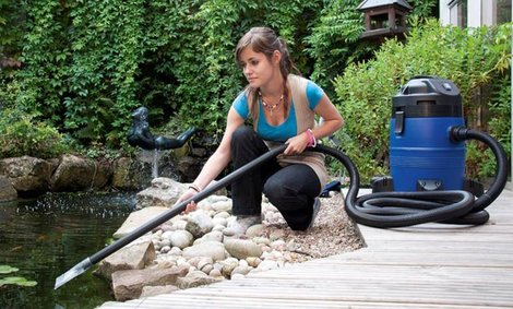 6 steps to a happy pond hayes garden world for Garden pond cleaning nets