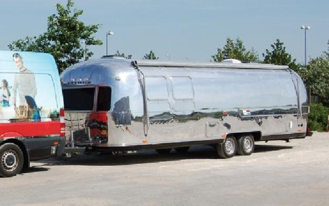 Weber Airstream Barbecue Road Show