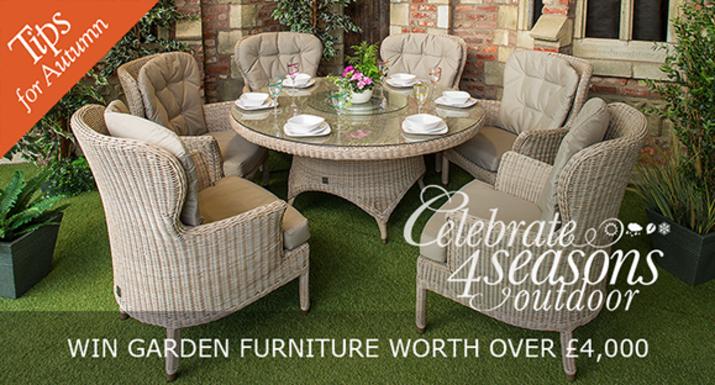 Autumn Gardening Tips - Win Garden Furniture Worth Four Thousand Pound In Our Garden Tips