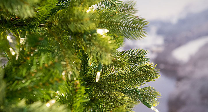 Bayberry Spruce artificial Christmas tree