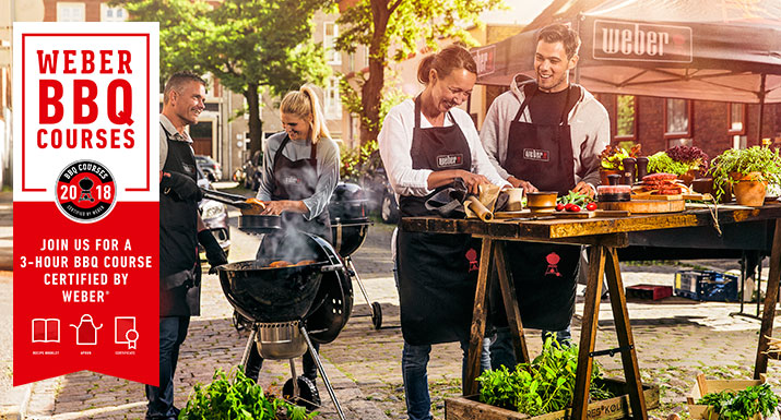 BBQ Course Certified by Weber - Summer