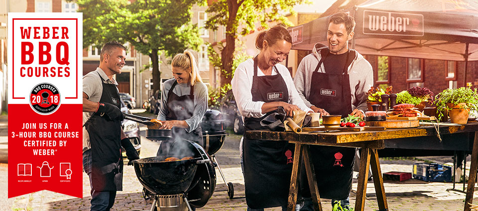 BBQ Course Certified by Weber