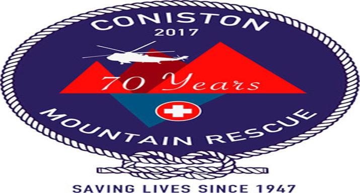 Coniston Mountain Rescue logo badge