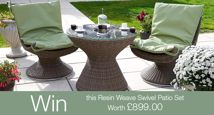 win a garden furniture set worth nine hundred pounds in our rh hayesgardenworld co uk Outdoor Patio Furniture Rustic Outdoor Furniture