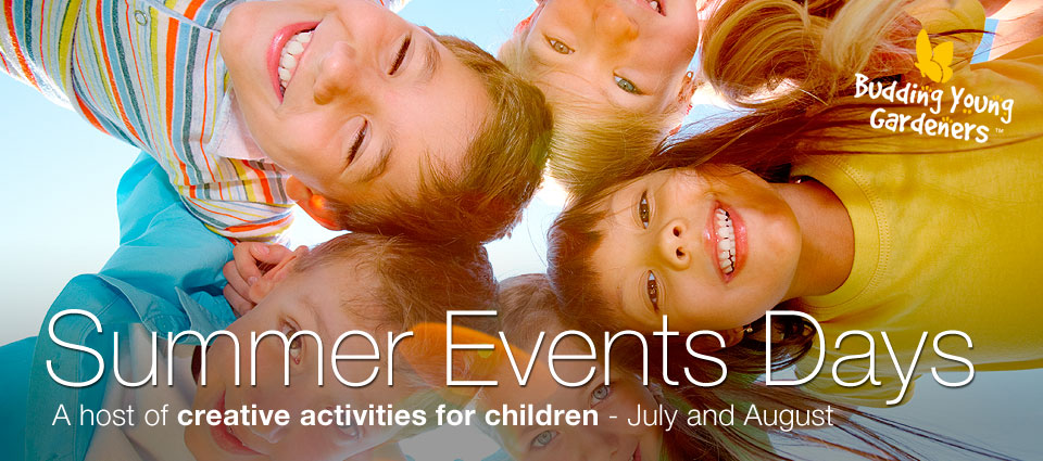BYG Summer Events Wednesdays & Saturdays