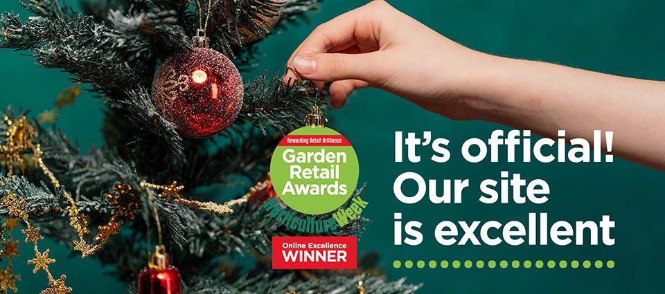 Garden Retail Award for Online Excellence