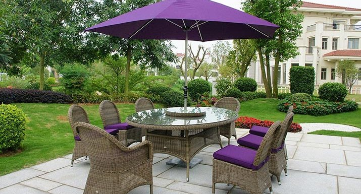 Glencrest Panama set. Protect your garden furniture cushions in a weatherproof outdoor