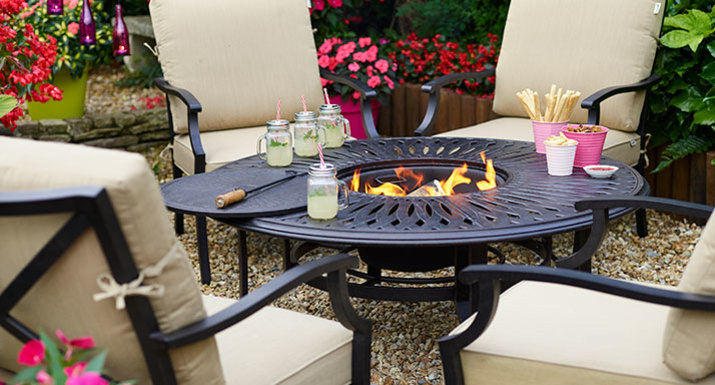 Hartman Florence Firepit Lounge Set