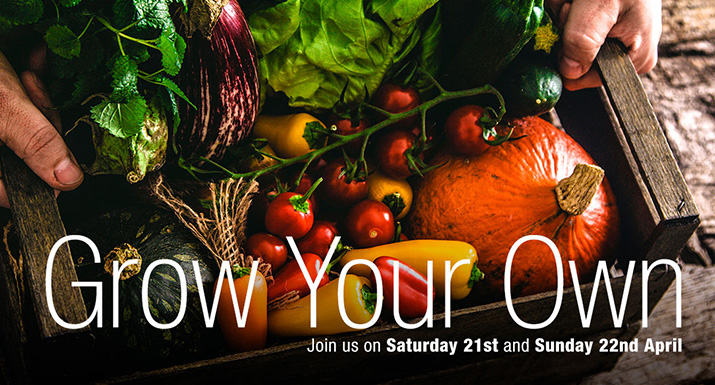 Grow Your Own Weekend at Hayes