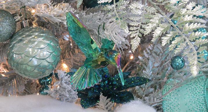 'Indulgence' Christmas theme at Hayes Garden World