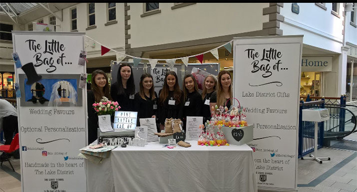'The Little Bag of....' team at The Westmorland Shopping Centre, Kendal