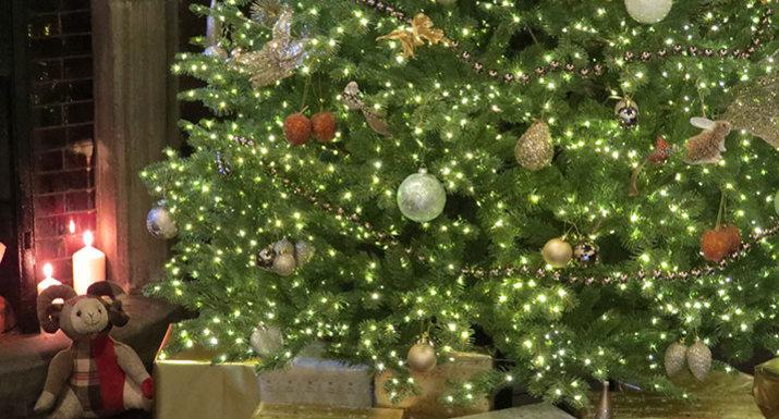 National Tree Company Ridgedale Infinity luxury artificial Christmas tree