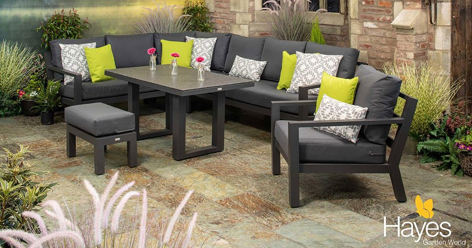 Synthetic Rattan Garden Furniture, How To Remove Mould On Outdoor Cushions
