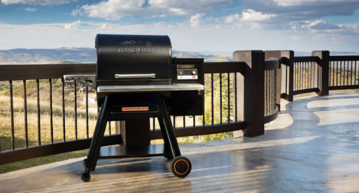 Traeger Timberline 850 wood-fired pellet grill