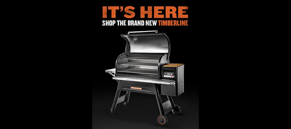 The new Traeger Timberline WiFIRE Grill is available here