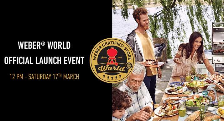 Weber World Official Launch Event