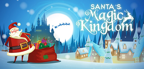 Enter Santa's Magic Kingdom @ Hayes Garden World!