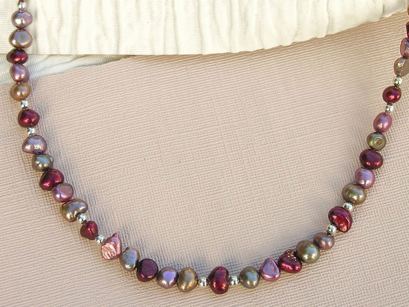 Jewels of Autumn Necklace