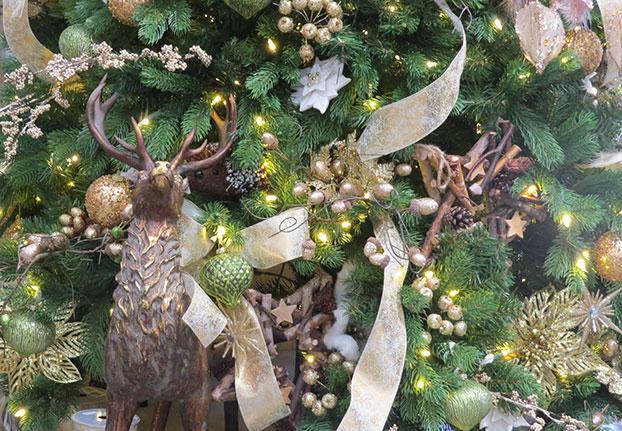8' Georgetown Fir artificial Christmas tree