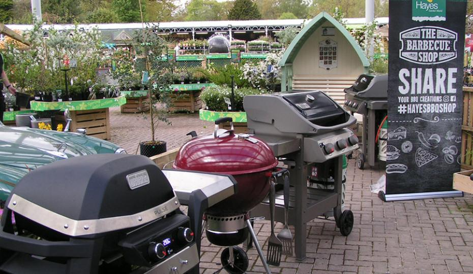 Weber gas, charcoal & electric barbecues