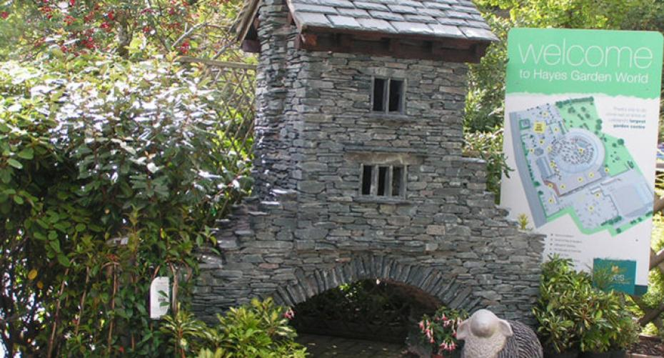 Bridge House, Ambleside replica at Hayes Garden World