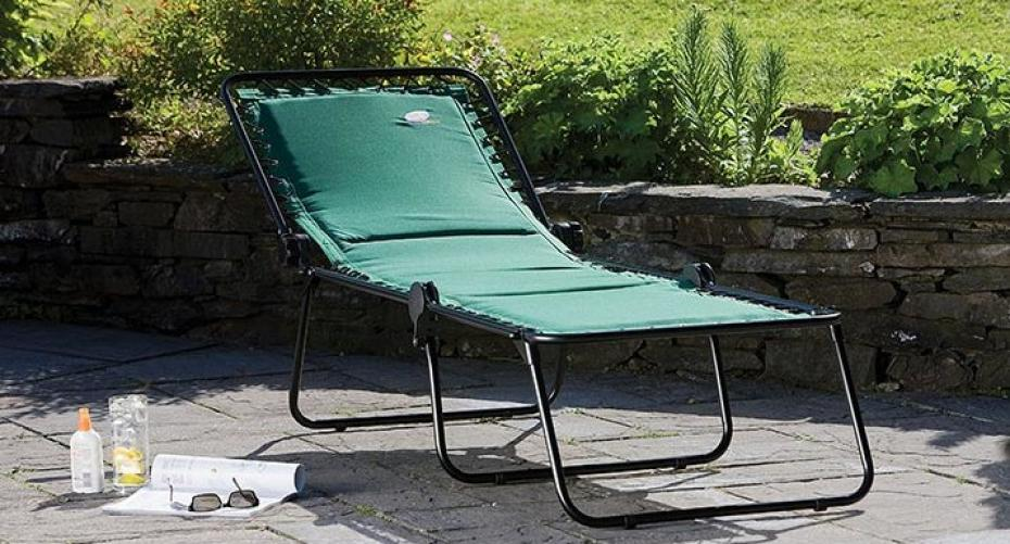 Suncoast padded sunlounger