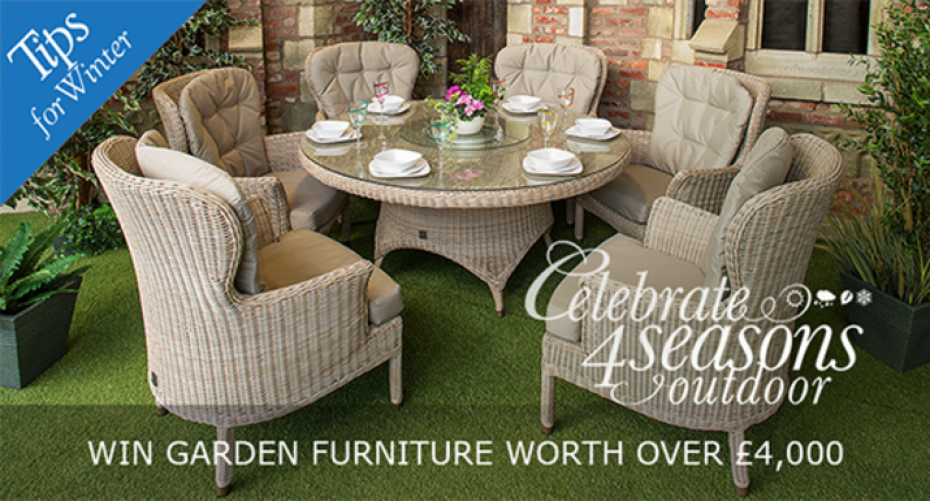 Win Garden Furniture worth Four Thousand Pound in our Garden Tips Competition