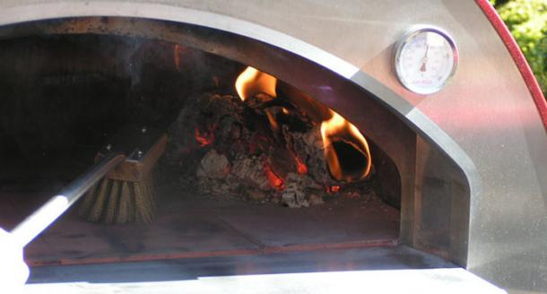 Alfa wood fired pizza oven