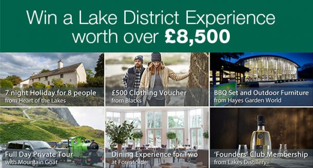 Win A Lake District Experience, Worth Over £8,500