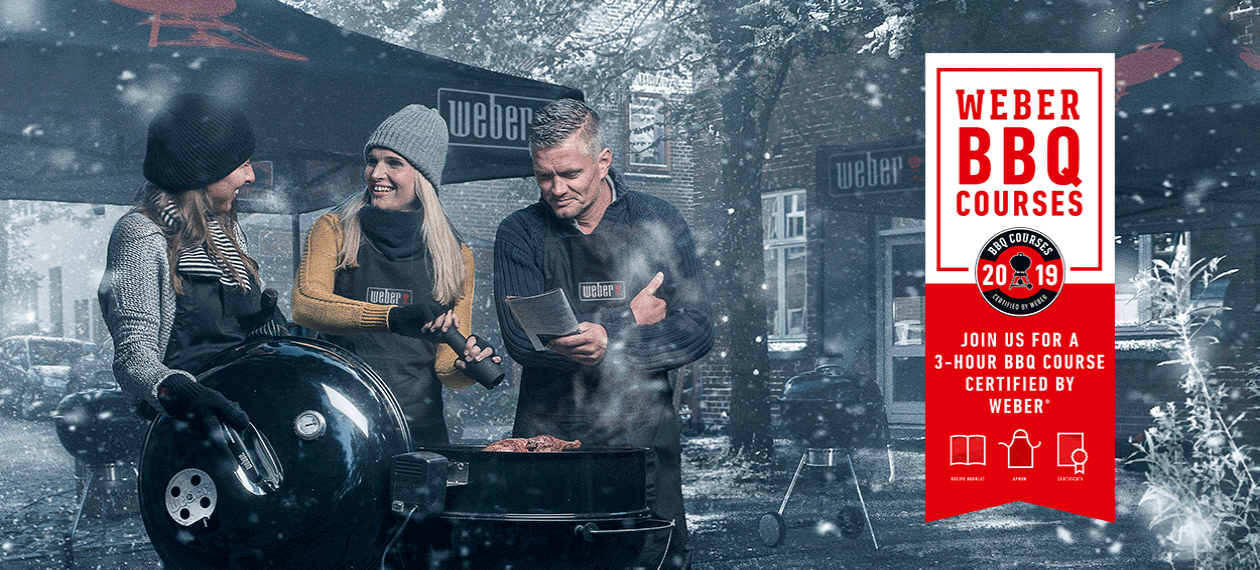 BBQ Course Certified by Weber - Winter