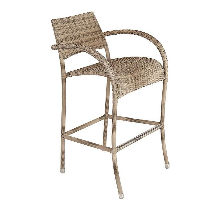 Super Alexander Rose Ocean Pearl Fiji High Bar Stool Gmtry Best Dining Table And Chair Ideas Images Gmtryco