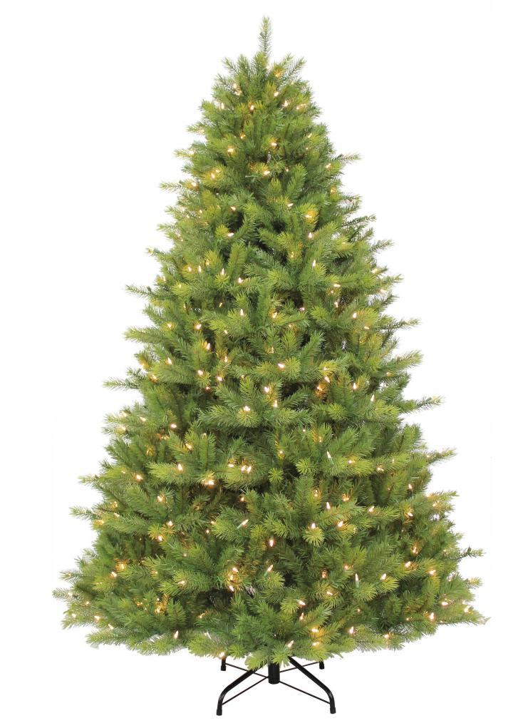 7ft Pre Lit Kensington Fir Life Like Artificial Christmas Tree Hayes Garden World