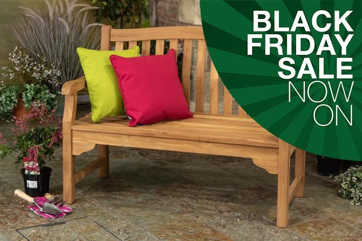 Enjoyable 4Ft Kingsbury Teak Garden Bench Gmtry Best Dining Table And Chair Ideas Images Gmtryco