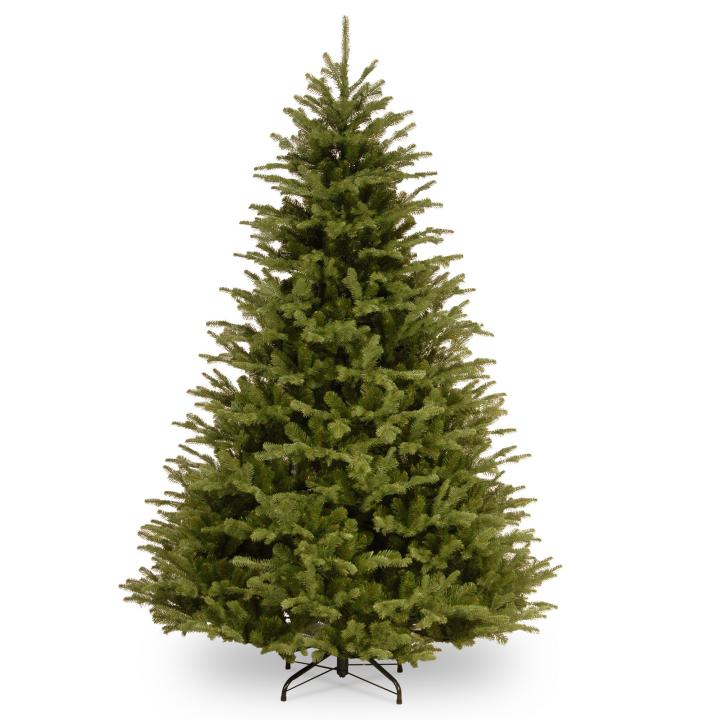 Christmas Trees Garden Ridge: 8ft Ridgedale Fir 100% Feel-Real Artificial Christmas Tree