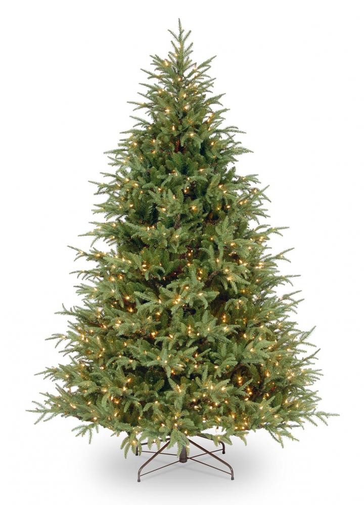 7ft Most Advanced Pre Lit Frasier Grande Fir Feel Real Artificial