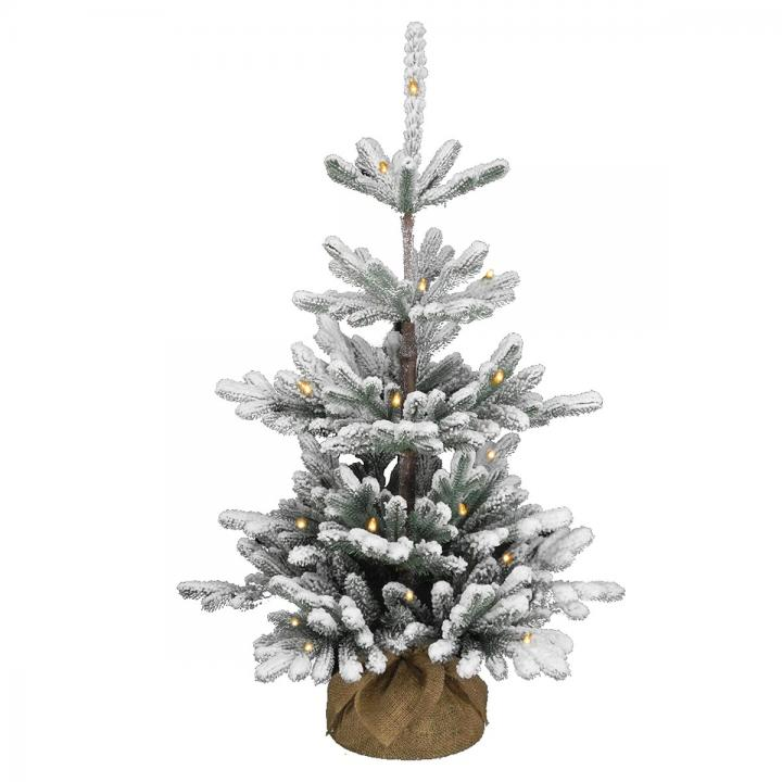 Where Does Christmas Trees Come From: 3ft Pre-lit Battery Operated Snowy Imperial Blue Spruce