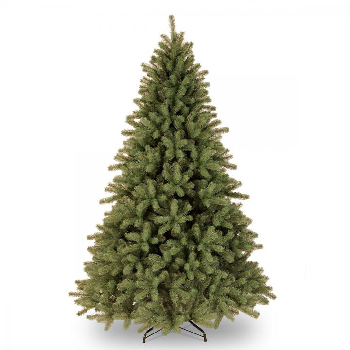 7ft Lakewood Spruce Feel-Real Artificial Christmas Tree ...
