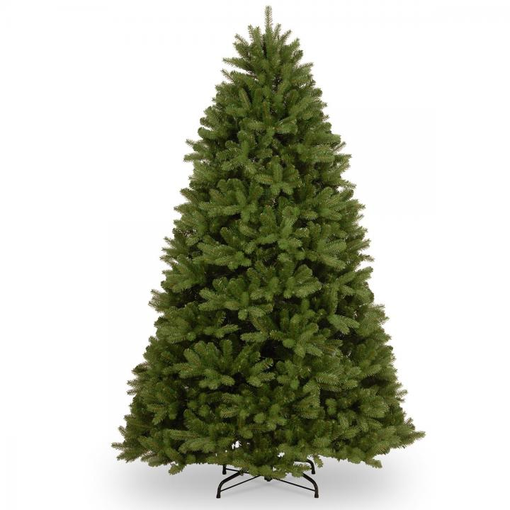 Real Or Fake Christmas Tree: 8ft Newberry Spruce 100% Feel-Real Artificial Christmas