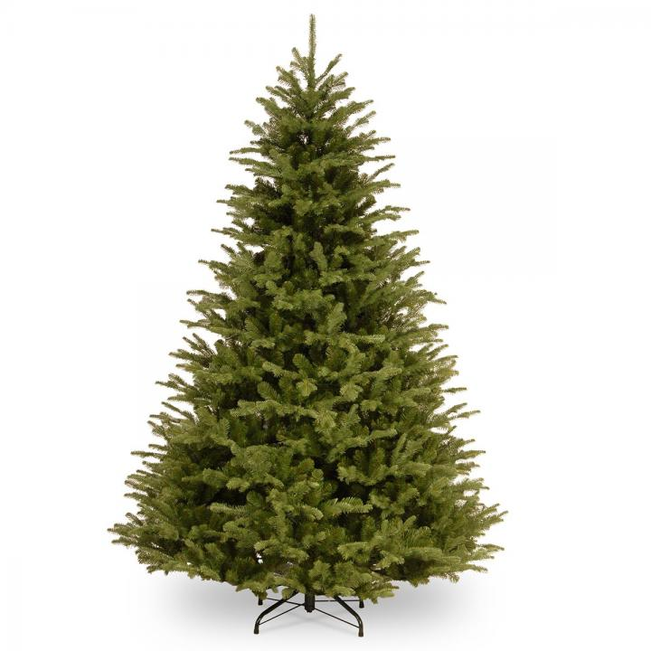 Christmas Tree Garden Ridge: 7.5ft Ridgedale Fir 100% Feel-Real Artificial Christmas